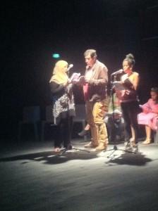 Ecrit au Centre social Baussenque. Lu par Eric, Ouassila, Raïda, Maïmouna
